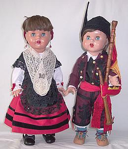 muñecos asturianos