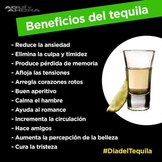 beneficio tequila